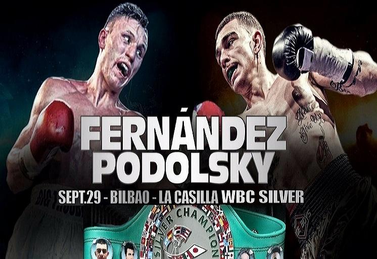 Boxeo: Jon Fernández vs Alexander Podolsky