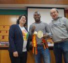 Boxeo profesional: presentación del campeonato de España entre Natxo Mendoza y Fran Suárez para el 27 de enero en Vitoria Gasteiz