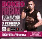 El boxeador riojano Ricardo Fernández MATEO, protagonista del combate de fondo de la velada de Fuenmayor