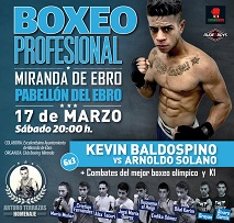 cartel miranda 17 marzo 2018 Boxeo Kevin Baldospino