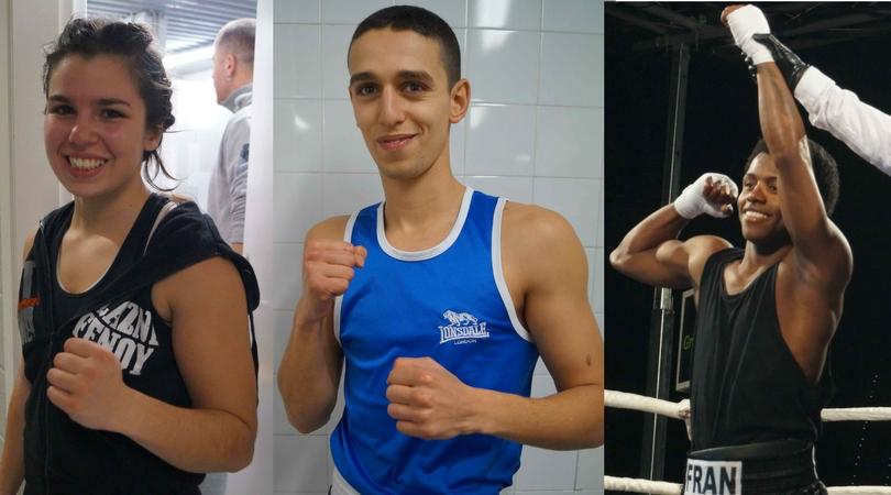 Alazne Fenoy, Fran Mendoza y Zouhairi Abdellatif boxean hoy en Zaragoza y Barcelona