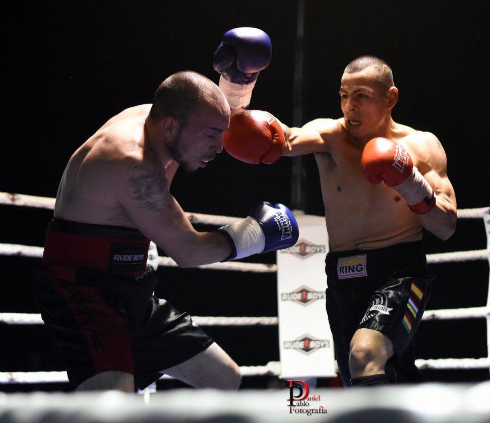 Boxeo profesional en Fuenmayor: Mateo vs Tejera