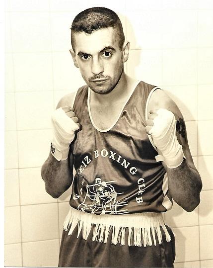 El boxeador amateur de Miranda de Ebro, Arturo Terrazas