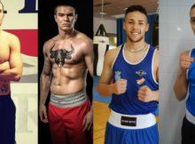Boxeadores amateur del próximo 20 de abril en Fadura Getxo