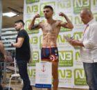 El boxeador profesional Jon Fernández